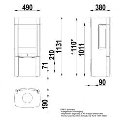 Scan 65-2 Schwarz mit Seitenfenstern