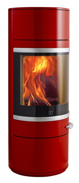 scan 83 2 kaminofen rot kaminsales24 kamine grills kaufen. Black Bedroom Furniture Sets. Home Design Ideas