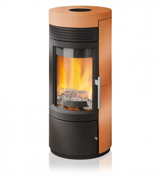 rika twist kaminofen mit keramikverkleidung cotto kaminsales24 kamine grills kaufen. Black Bedroom Furniture Sets. Home Design Ideas